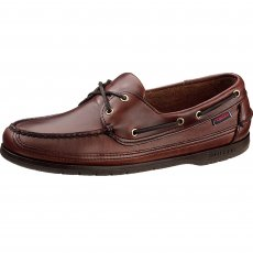 Sebago Schooner B75943 Brown Oiled Waxy Leather Shoes