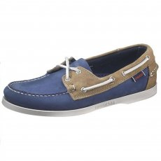 Sebago Spinnaker B720017 Blue/Sand Shoes