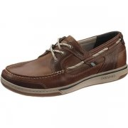 Sebago Triton Three Eye B81003  Brown Oiled/Dark Brown Shoes