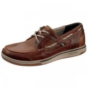 Sebago Triton Three Eye B81060 British Tan/Brown Shoes