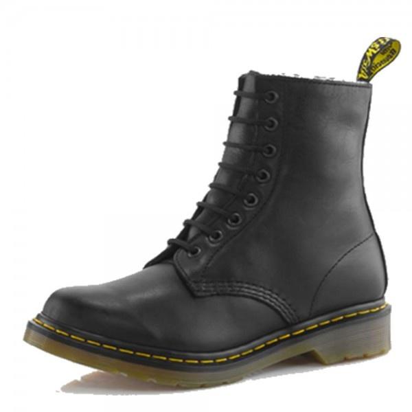 dr martens serena women 39 s black boots free delivery at. Black Bedroom Furniture Sets. Home Design Ideas