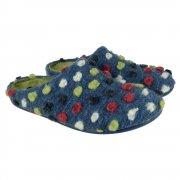 Silentnight Smartie Blue Slippers