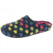 Silentnight Smartie Navy Slippers