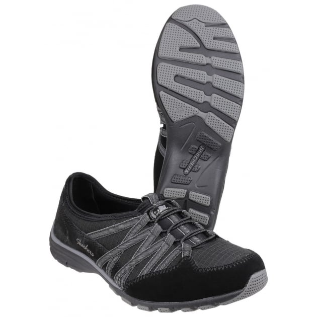 Skechers Active Conversations Holding Aces Black/Charcoal