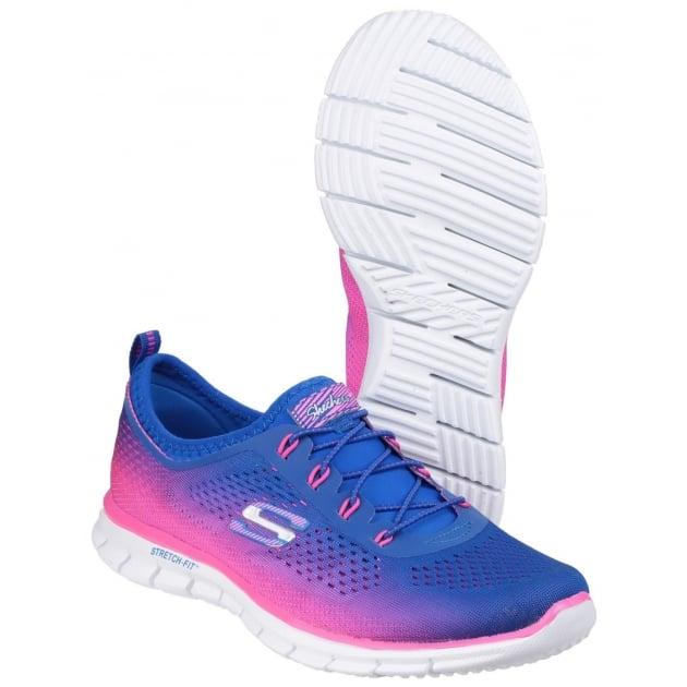 Skechers Active Glider - Fearless Blue/Pink