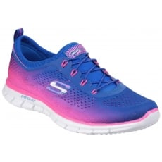 Skechers Active Glider - Fearless Blue/Pink SK22713