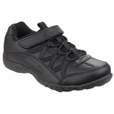 Skechers Breathe Easy Black Boys