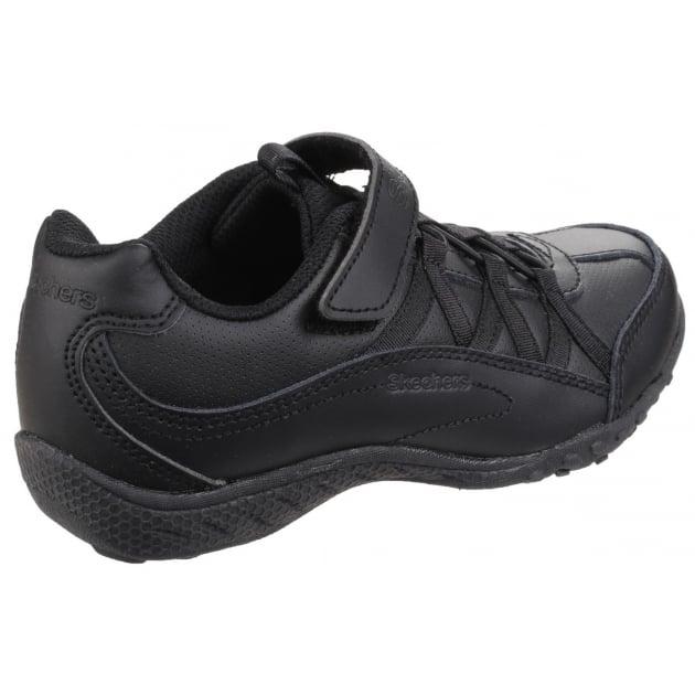 Skechers Breathe Easy Black Boys