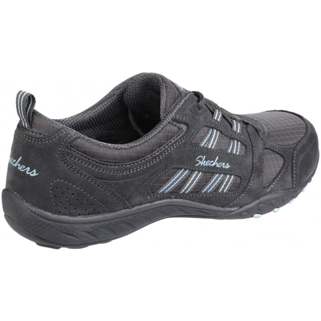Skechers Breathe Easy - Good Luck Charcoal