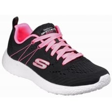 Skechers Burst - Adrenaline Black/Pink Sports SK12434