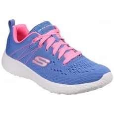 Skechers Burst - Equinox Blue/Pink