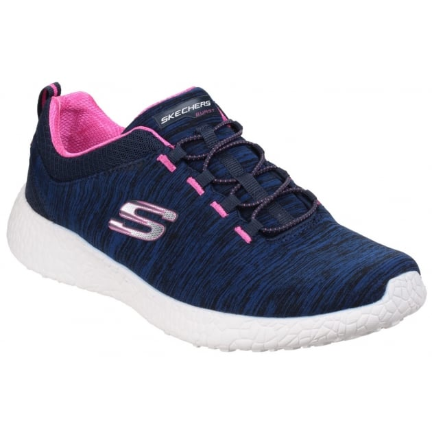 Skechers Burst - Equinox Navy/Pink
