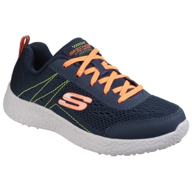 Skechers Burst: Second Wind Navy/Orange Girls SK97300L