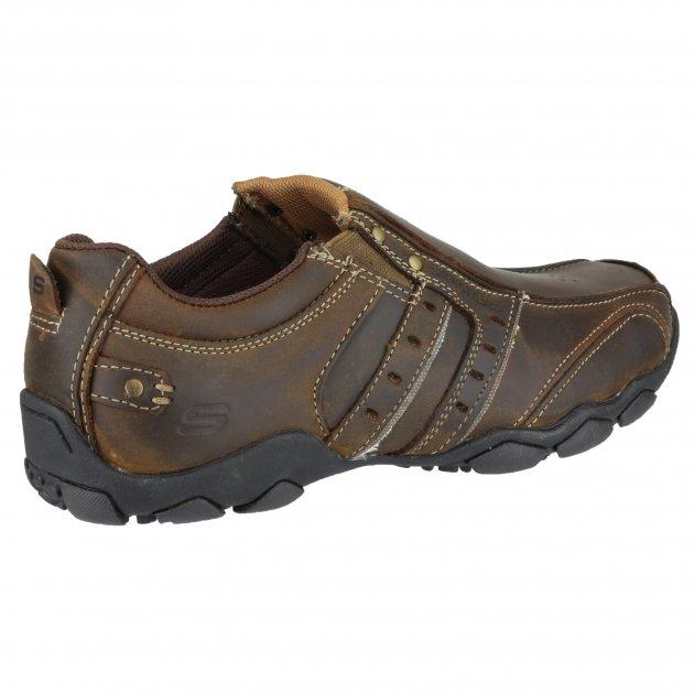 Skechers Diameter Heisman Sk61779 Chocolate/Dark Brown Shoes