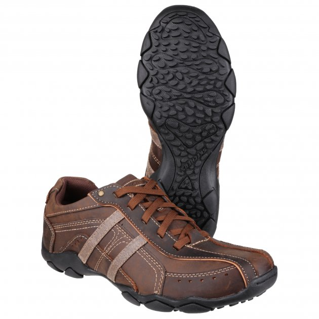 Skechers Diameter-Murilo Sk64276 Dark Brown Shoes