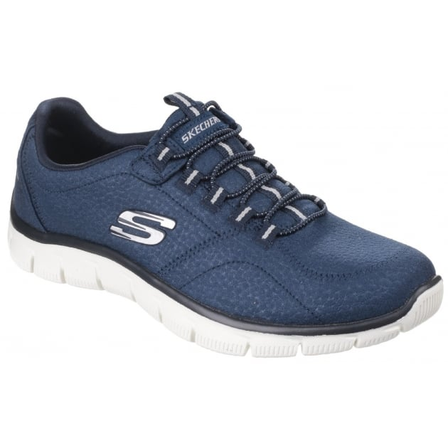 Skechers Empire - Take Charge Elasticated Slip On Navy