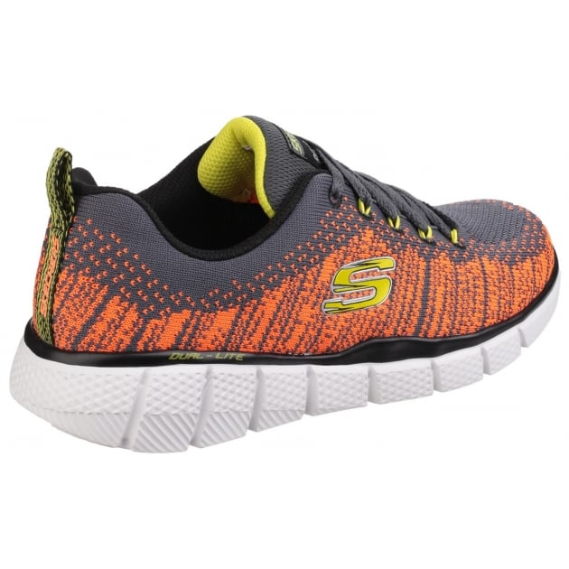Skechers Equalizer 2.0 Perfect Game Memory Foam Lace up Trainer SK97370L