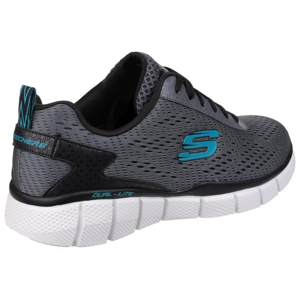 ... Skechers Equalizer 2.0 Settle The Score Grey/Black SK51529 ...