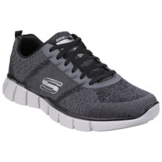 Skechers Equalizer 2.0 True Balance Grey/Black Trainer