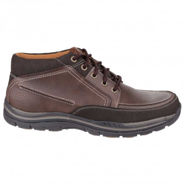 Skechers Expected Cason Sk64538 Brown Boots