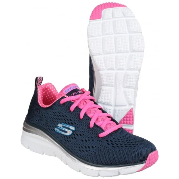 Skechers Fashion Fit - Statement Piece Navy/Pink