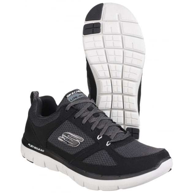 Skechers Flex Advantage - 2.0 Black/White