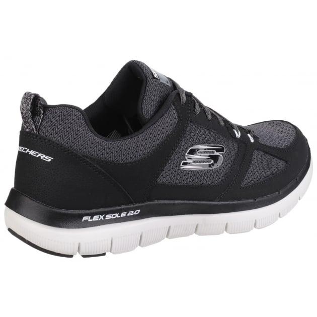 Skechers Flex Advantage - 2.0 Black/White SK52180