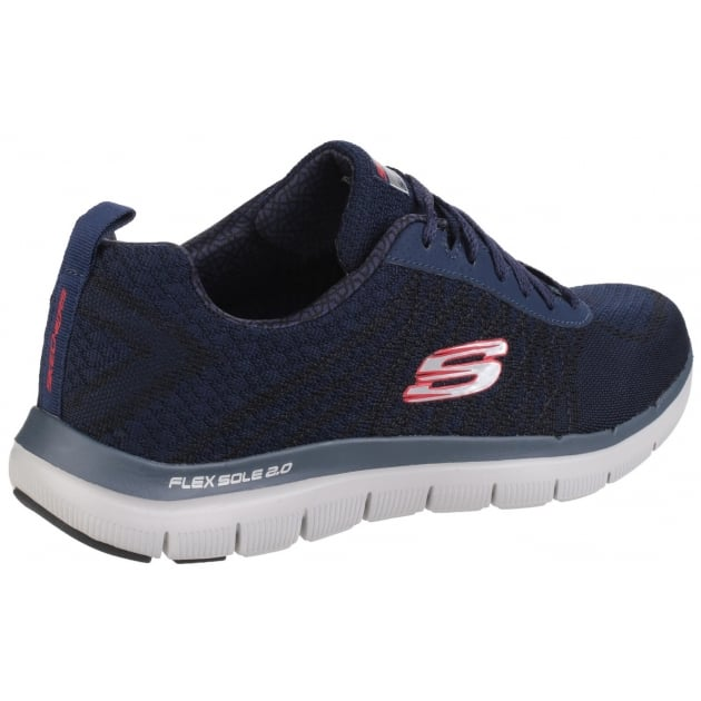 Skechers Flex Advantage - 2.0 Golden Point Navy/Red SK52182