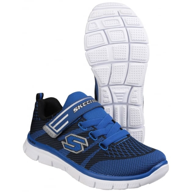 Skechers Flex Advantage Master Mind Blue/Black Boys SK95523L