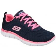 Skechers Flex Appeal 2.0 - Break Free Navy/Pink