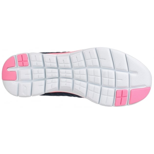 Skechers Flex Appeal 2.0 - Break Free Navy/Pink SK12757