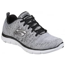 Skechers Flex Appeal 2.0 - High Energy White/Black SK12756