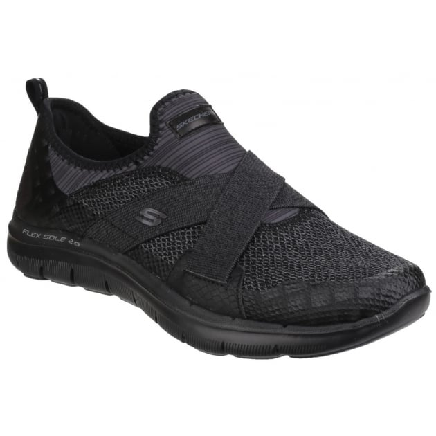 Skechers Flex Appeal 2.0 - New Image Slip On Black