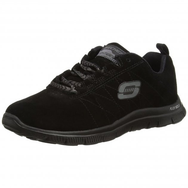 Skechers Flex Appeal Casual Way Black Shoes