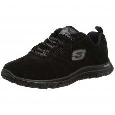 Skechers Flex Appeal Casual Way Black Shoes