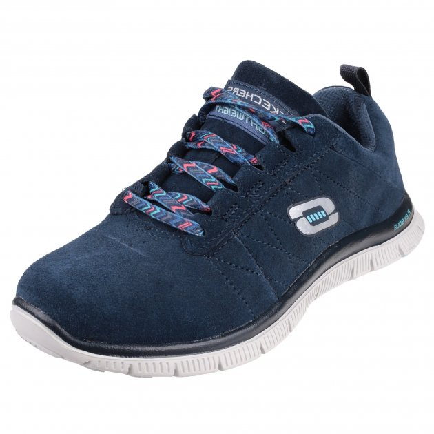 Skechers Flex Appeal Casual Way Navy Shoes