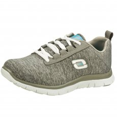 Skechers Flex Appeal Next Generation  Grey Shoes