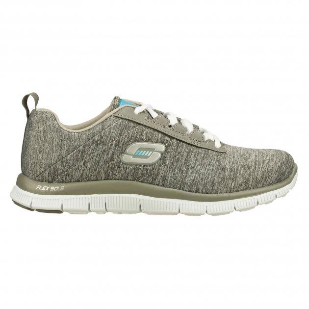 Skechers Flex Appeal Next Generation  Grey Shoes