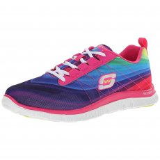 Skechers Flex Appeal Pretty Please Sk12067 Pink/Multi Shoes