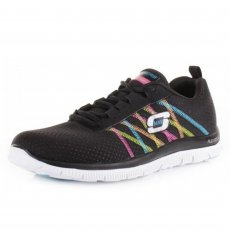 Skechers Flex Appeal Something Fun Black/Multi Sports