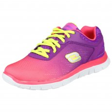 Skechers Flex Appeal Style Icon Sk11880 Hot Pink/Purple Shoes