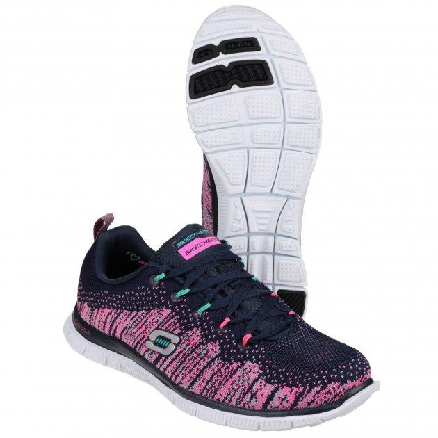 Skechers Flex Appeal Talent Flair Sk12059 Navy/Multi Shoes