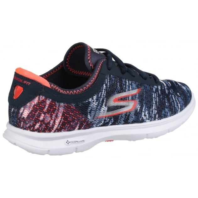 Skechers Go Step Navy/Orange SK14200