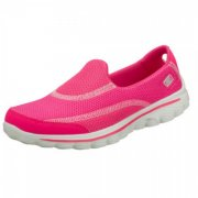 Skechers Go Walk 2 Hot Pink Shoes