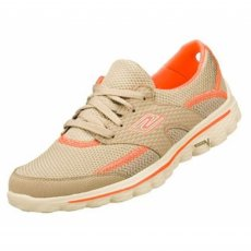 Skechers Go Walk 2 Stance Sk13592 Natural / Coral Shoes