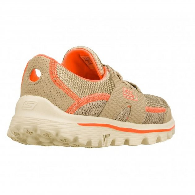 Skechers Go Walk 2 Stance Sk13592 Natural / Coral Shoes