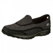 Skechers Go Walk 2 Super Sock Black Shoes