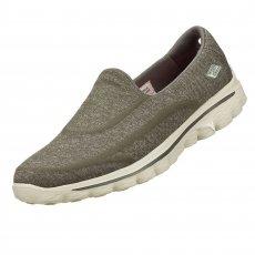 Skechers Go Walk 2 Super Sock Charcoal Shoes