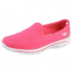 Skechers Go Walk 2 Super Sock Hot Pink Shoes