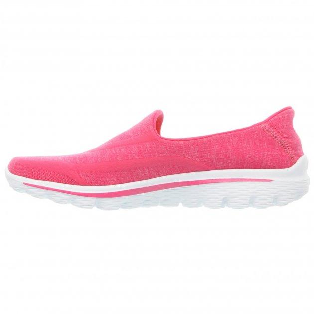 Skechers Go Walk 2 Super Sock Hot Pink Shoes